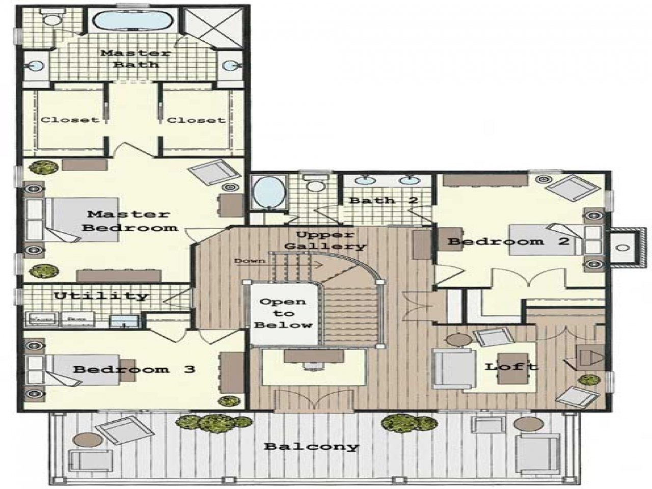 Colonial home floor plans traditional colonial house floor for Traditional home floor plans