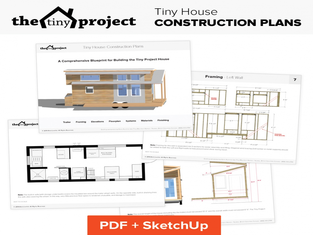 Tiny house floor plans pdf modern tiny house floor plans for Modern house plans pdf