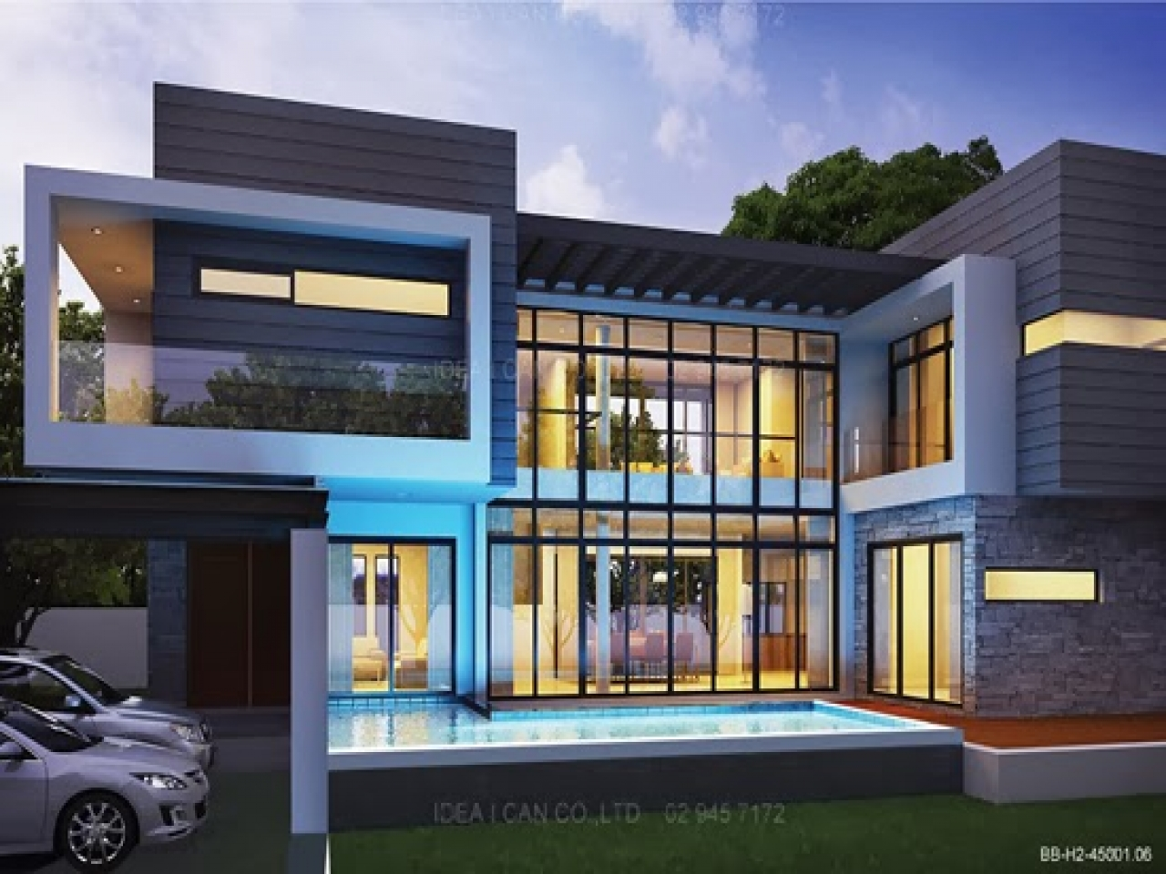 residential 2 storey house plan modern 2 story house plans lrg 4f88d5fa574548be - 26+ Two Storey Small Wooden House Design Pictures