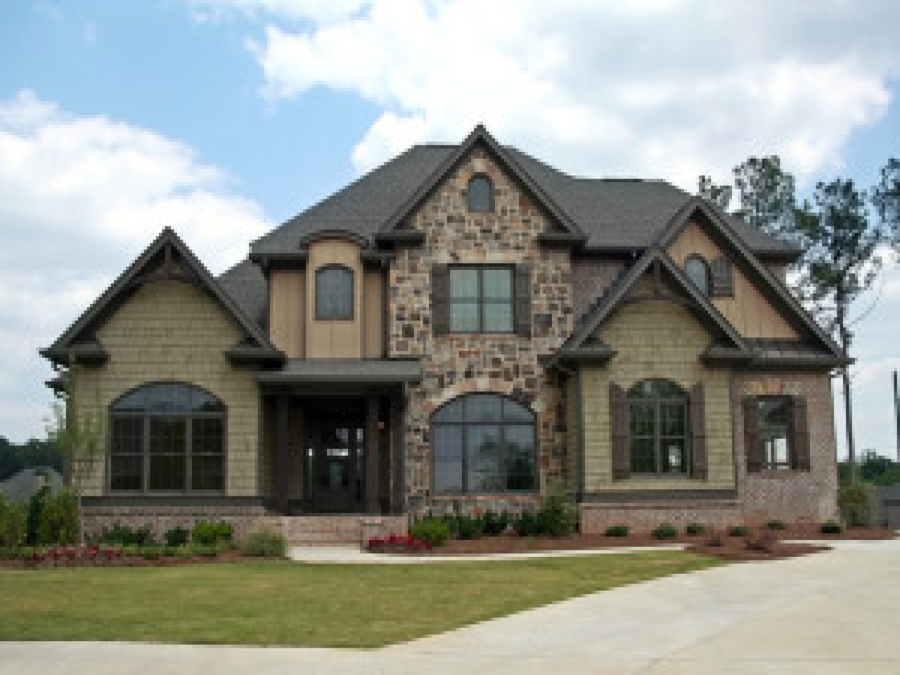 Design Your Own Home Entertainment Center Wood And Stone Homes Pretty Home Exterior Custom Built
