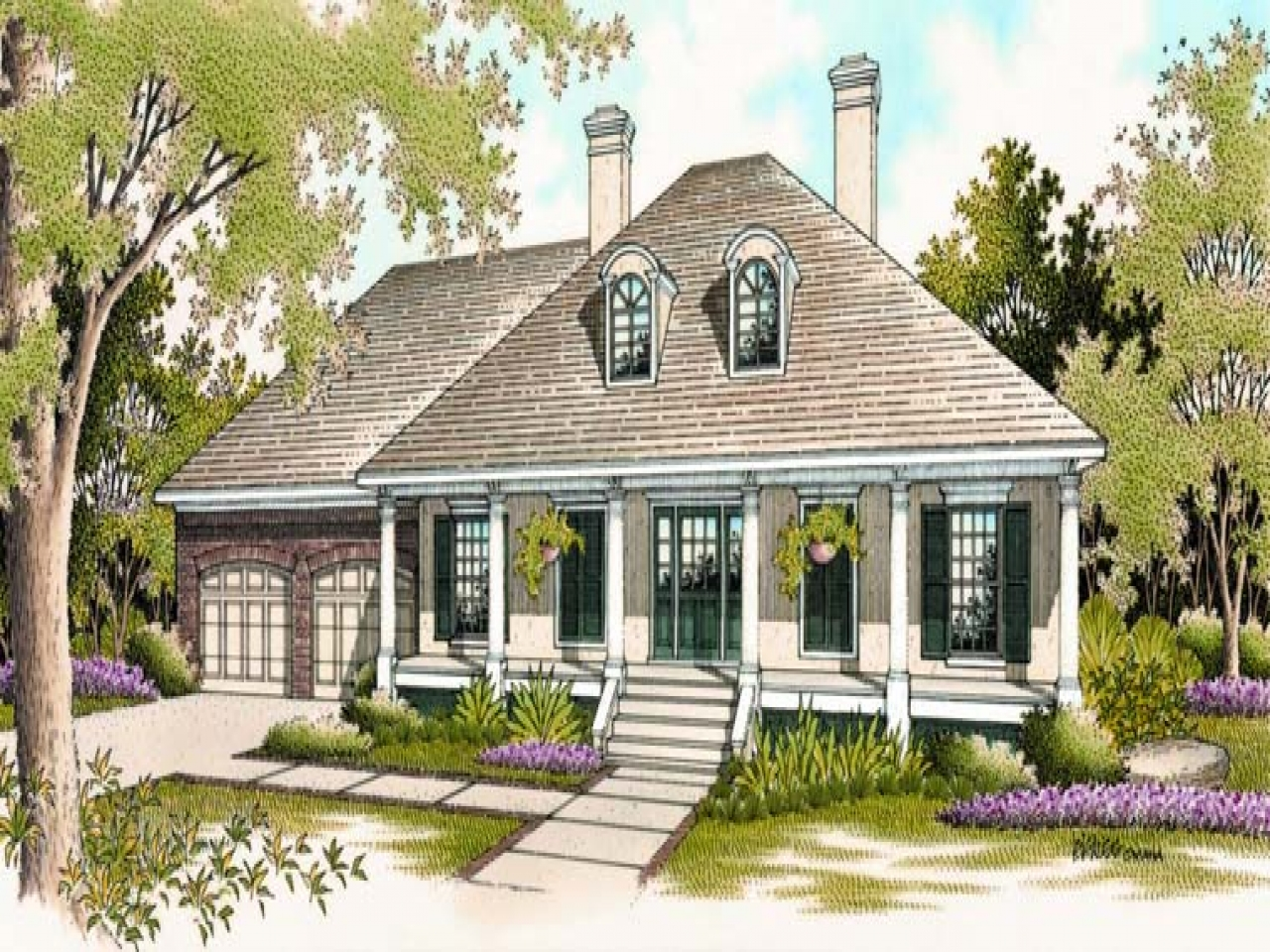 Classic southern house plans best craftsman house plans for Southern home designs
