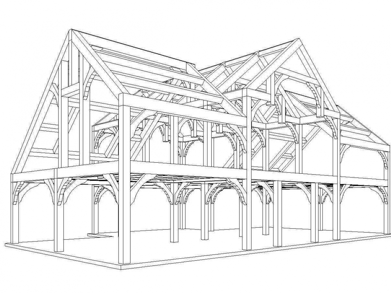 Timber frame house plans designs luxury house plans timber for Luxury timber frame home plans