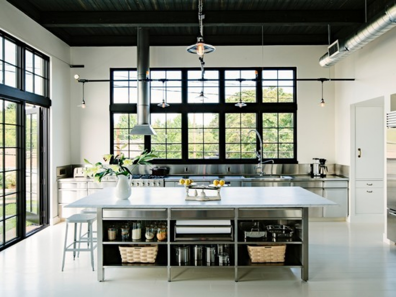 Industrial Chic Home Design Modern Industrial Home Design