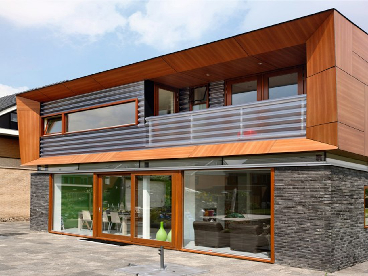 Simple modern house architectural designs modern - Modern architectural designs floor plans ...