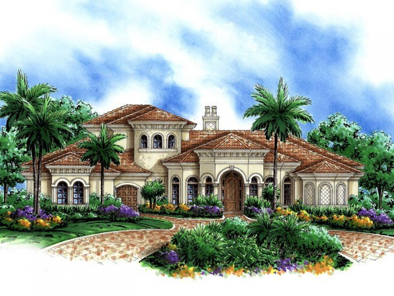 Luxury Mediterranean House Plans Beautiful Mediterranean