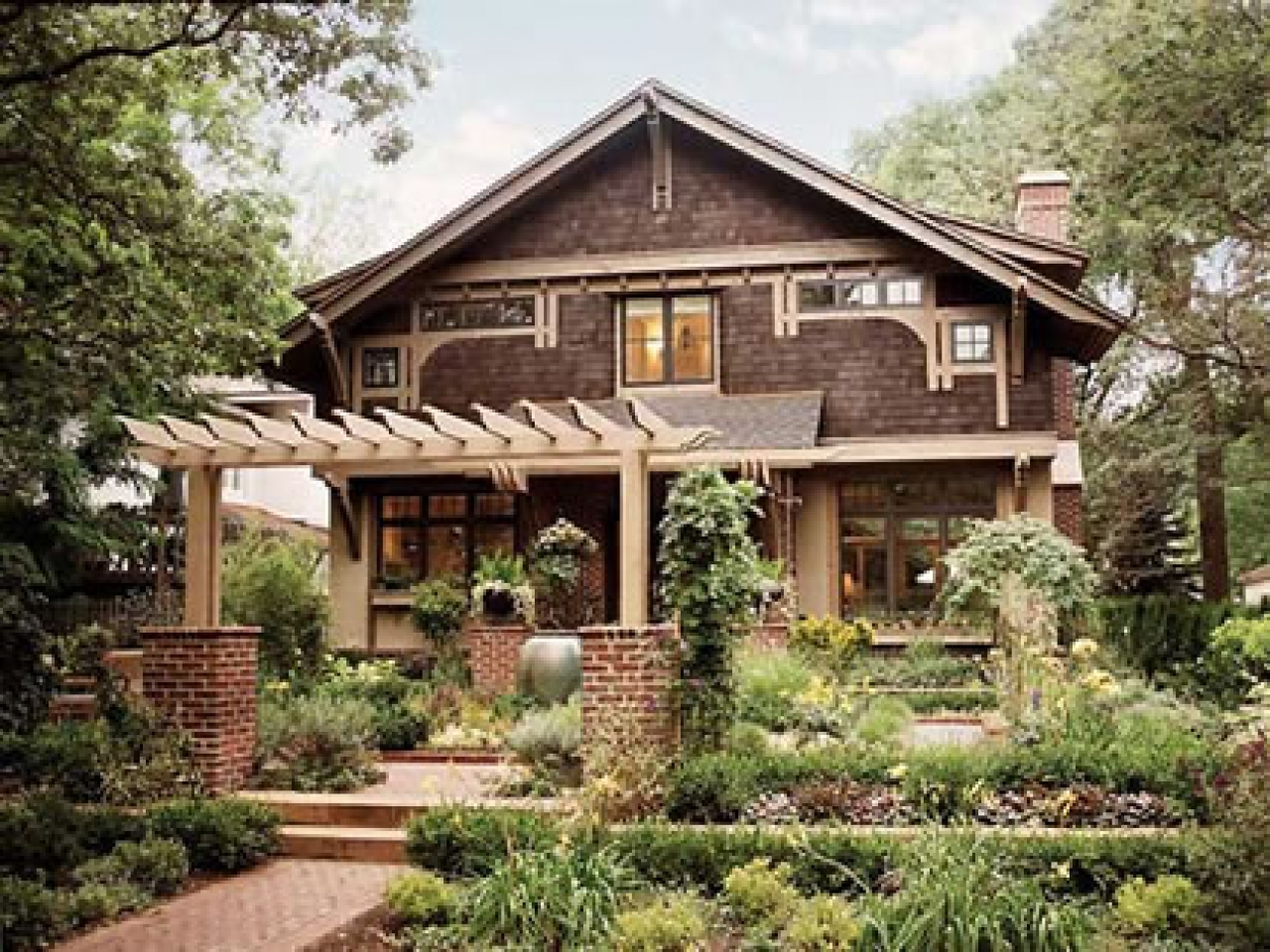 California Bungalow Arts And Crafts Bungalow House Plans