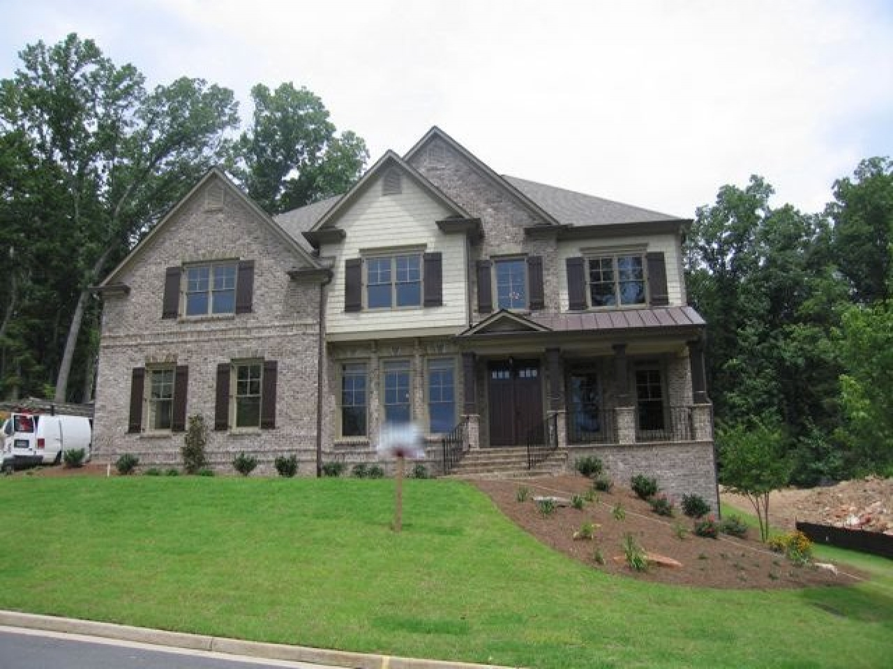 Two story colonial floor plans 2 story colonial house for 2 story brick house plans