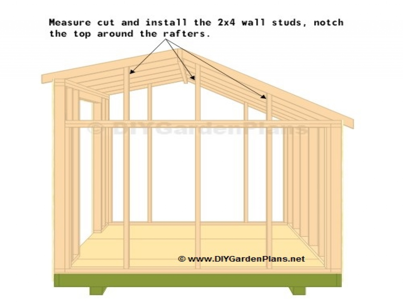 Saltbox shed truss plans storage shed plans 10x12 saltbox for New england shed plans