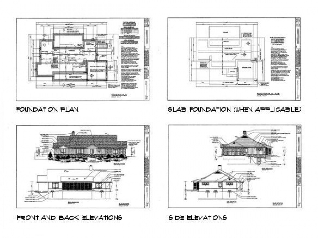 Sample house construction plans construction blueprint for Sample building plans