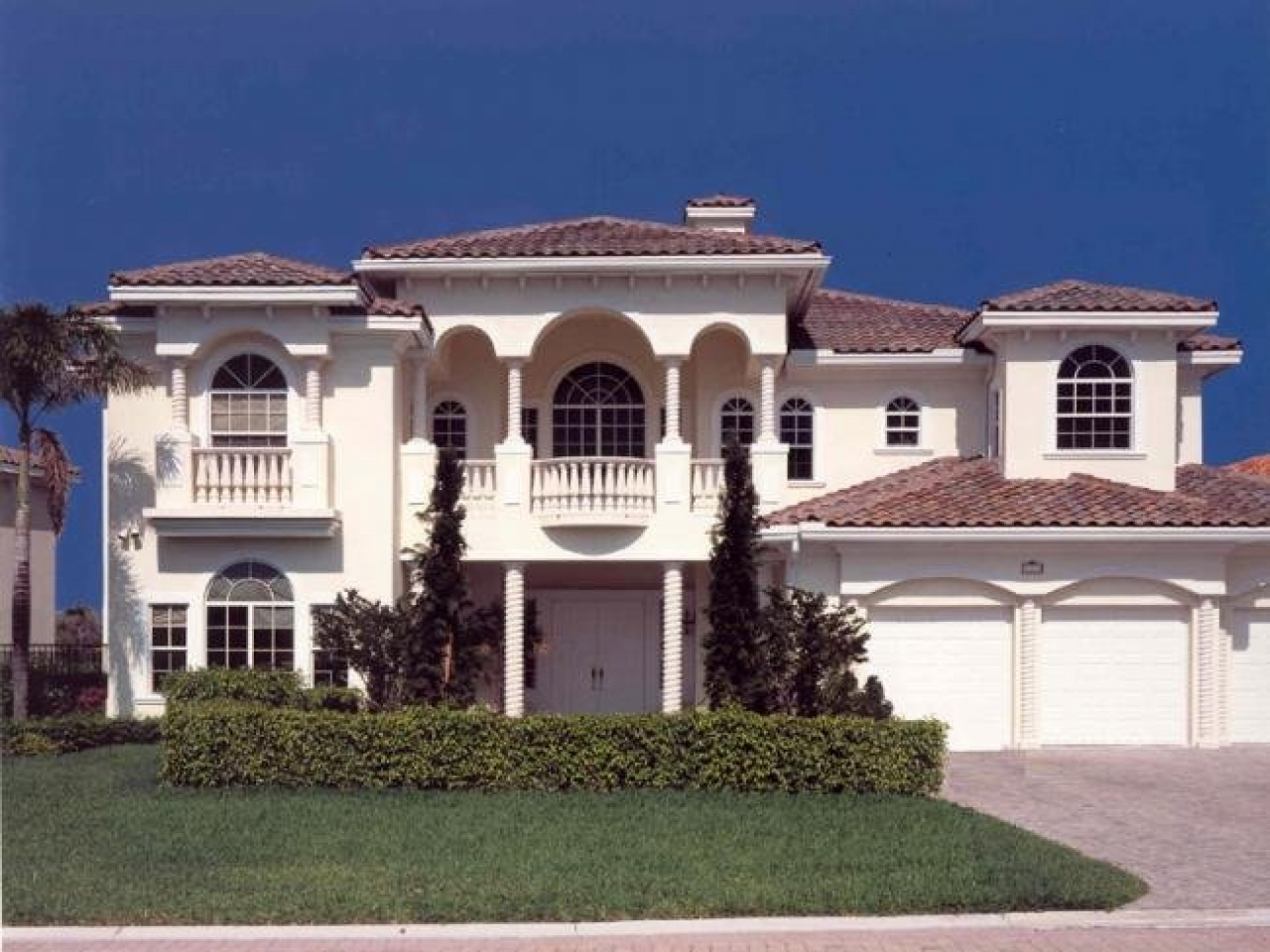 Spanish Mediterranean House Plans Super Luxury