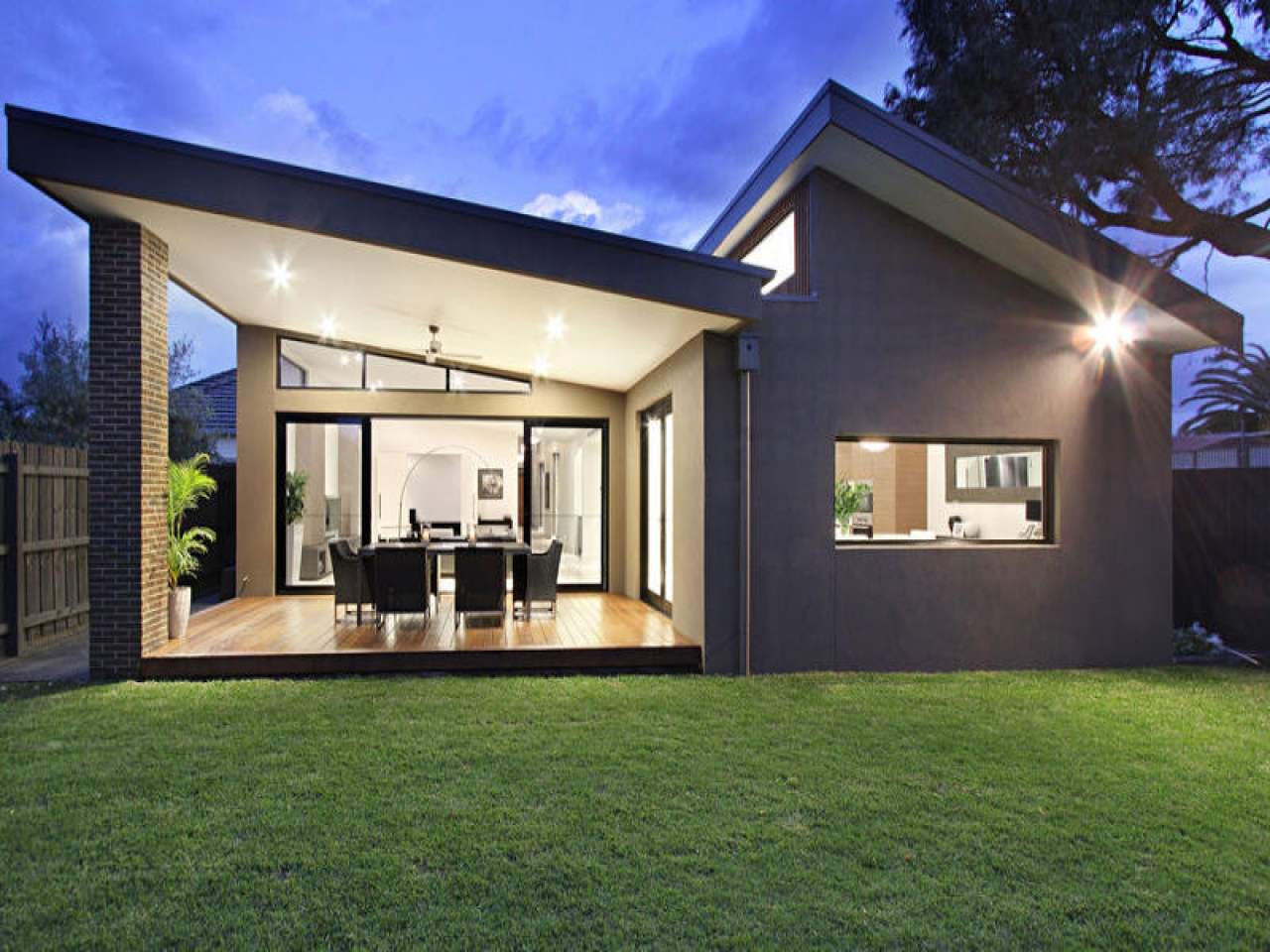 Small Modern Ranch House Small Modern Contemporary Homes ...