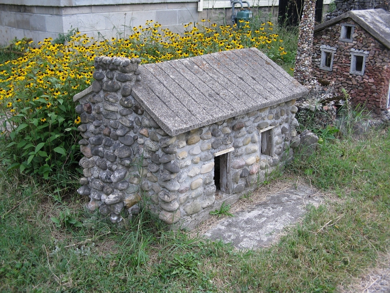 Small stone cottages stone cottage construction building for How to build a stone cottage