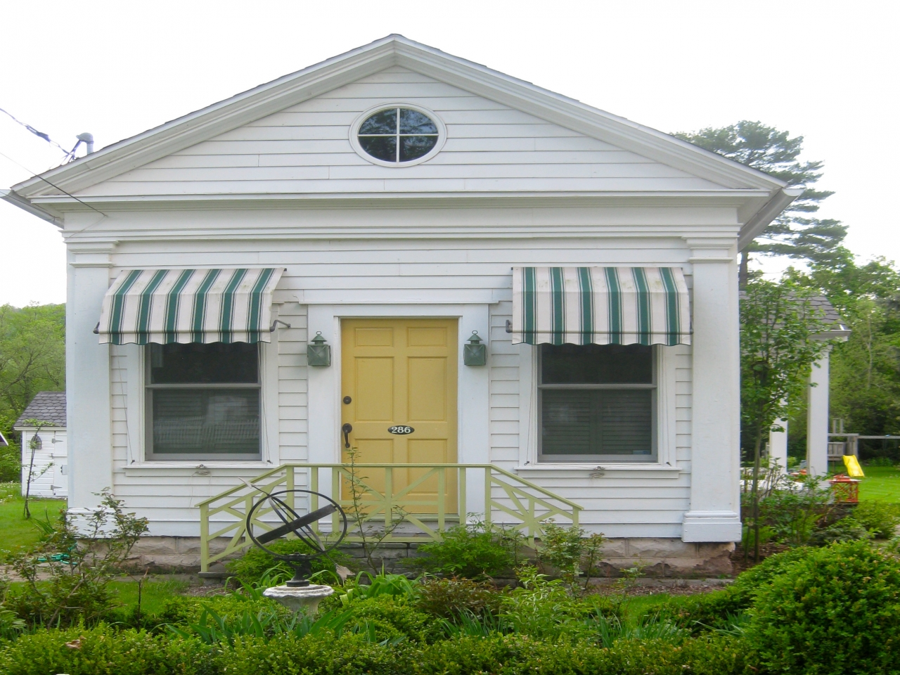 Houseboat Awnings Small House with Awning greek revival