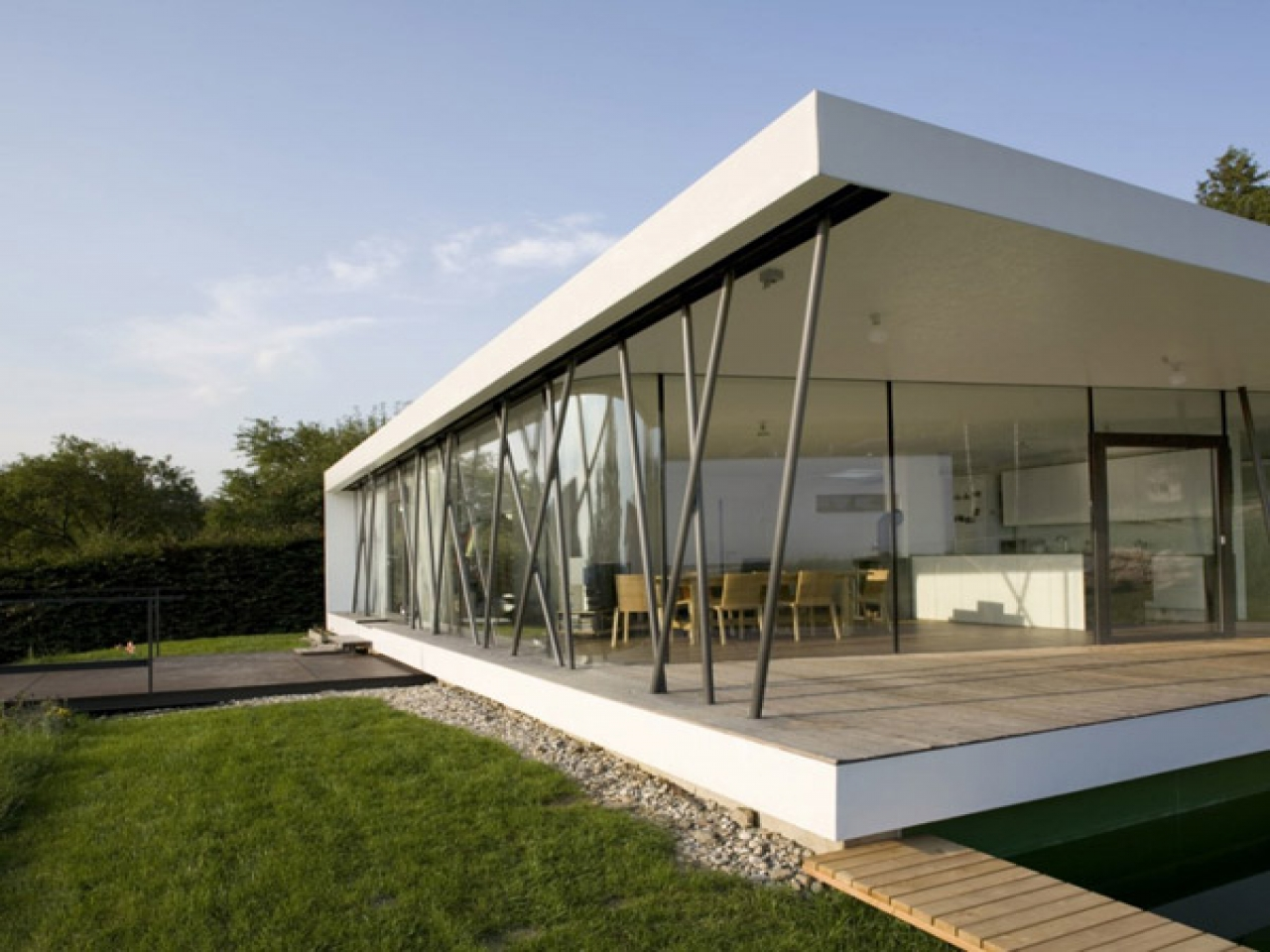 Single Story Modern House Designs Unique Single Story Home ...