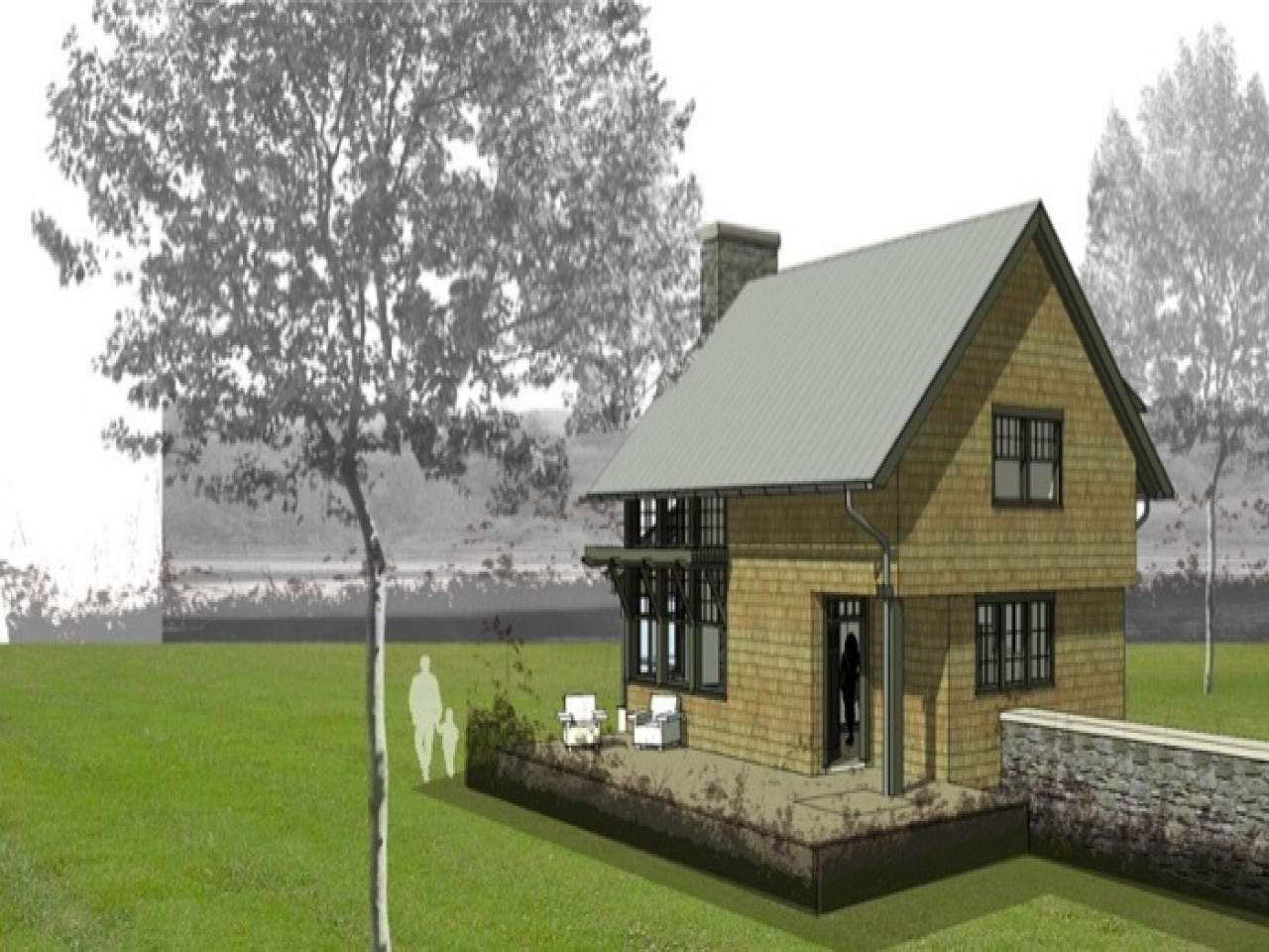 Cottage House Plans Lakeside Cottage House Plan Cottage House Plans One Story