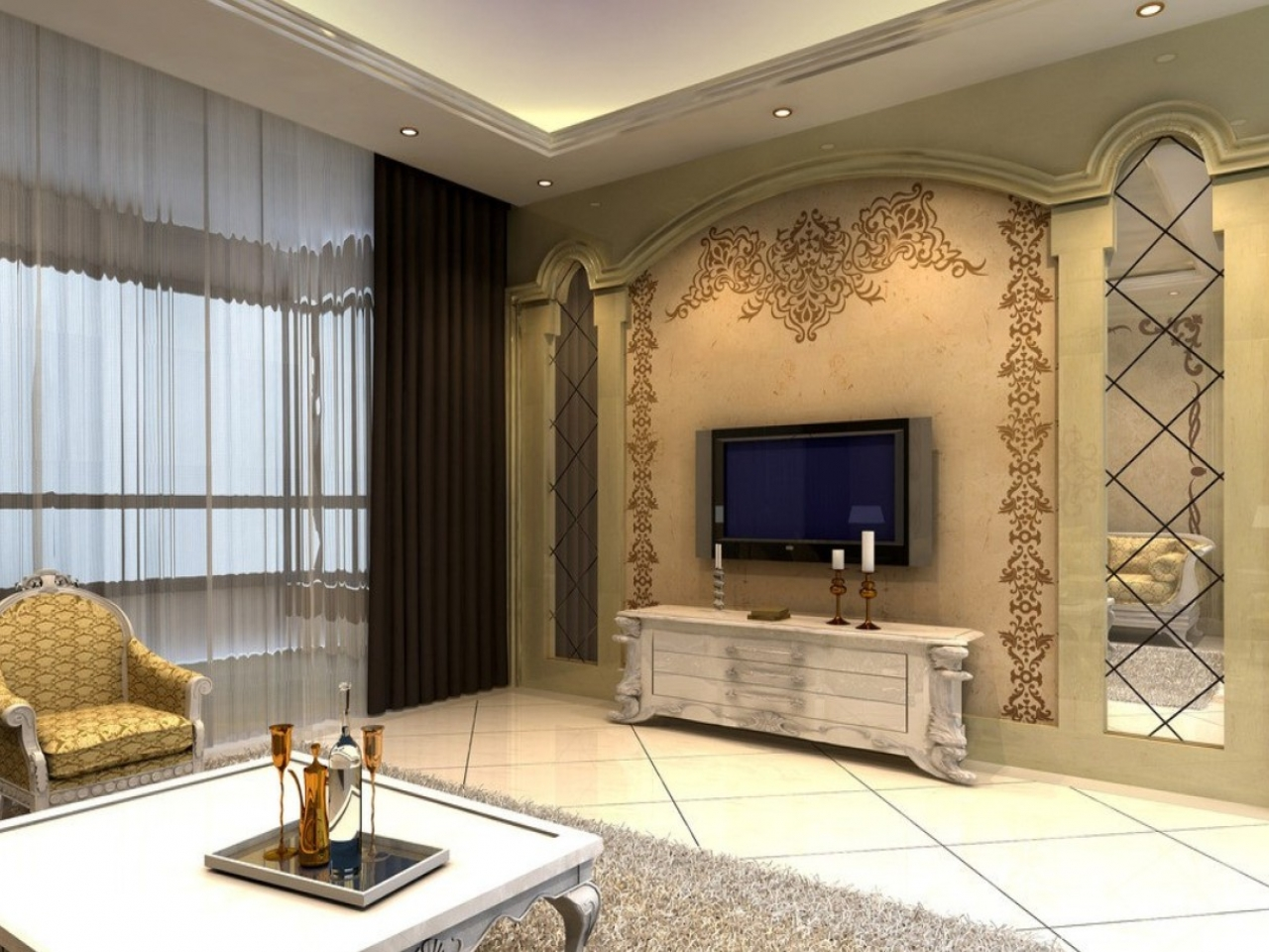 Victorian style living room furniture neoclassical living for M s living room furniture