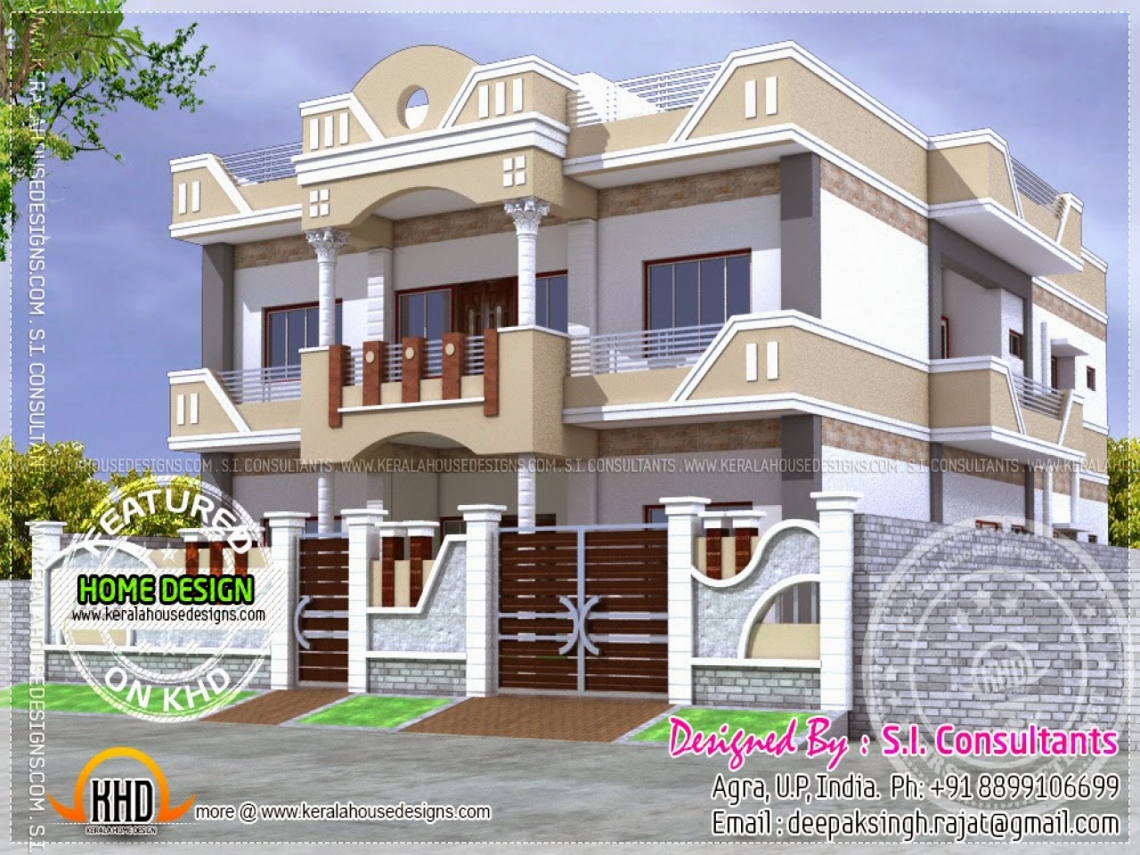 Home Design In India: Indian Building Design House Plans Designs India, Indian