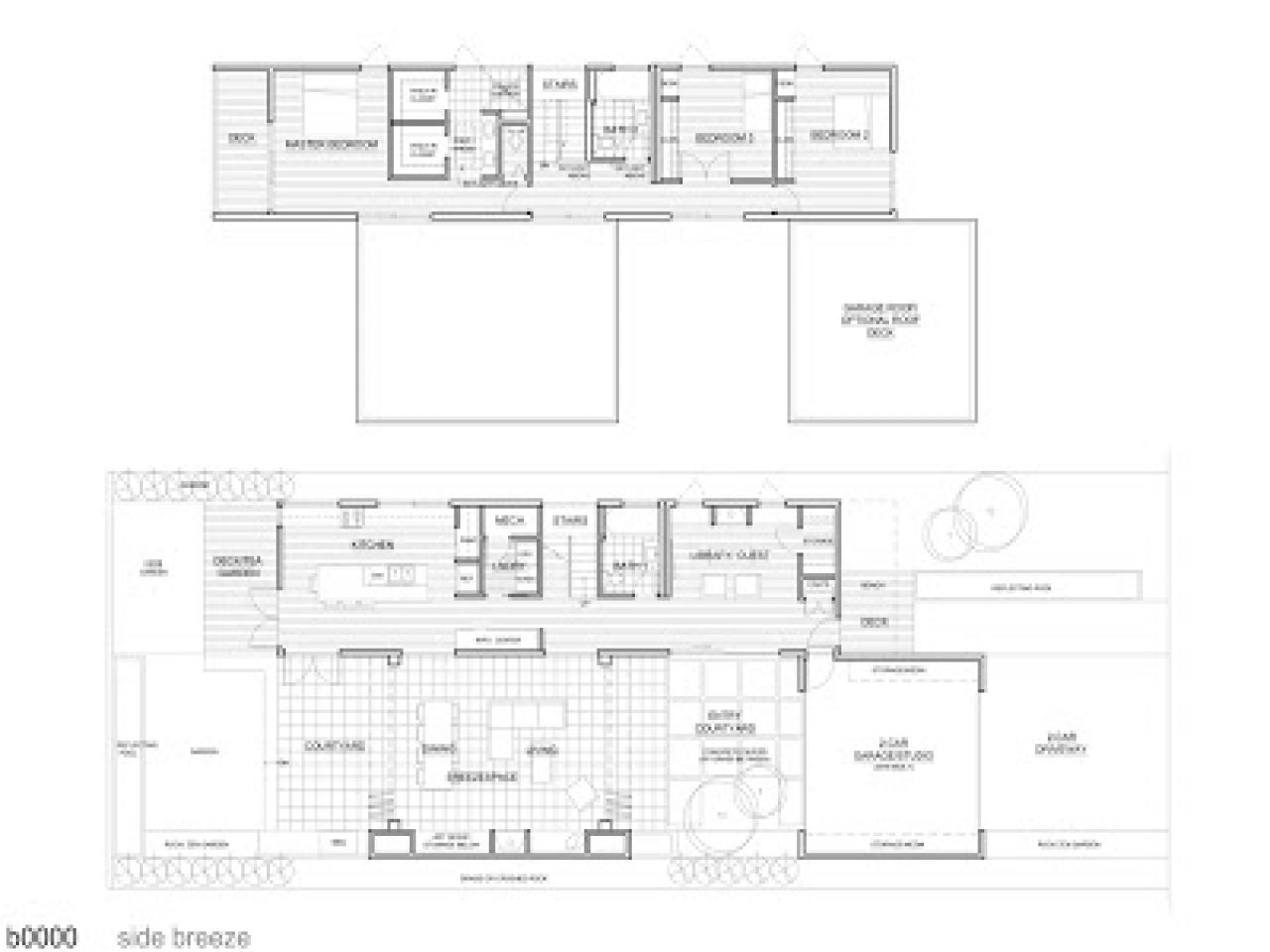 Michelle Kaufmann Breeze House Floor Plan Michelle