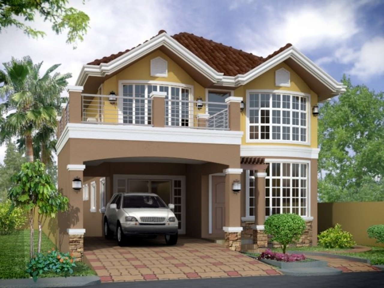 modern home design small houses small home house design lrg 4b2ba82c1f00a4d2 - 12+ Modern Modern Style Beautiful Small House Designs Pictures PNG