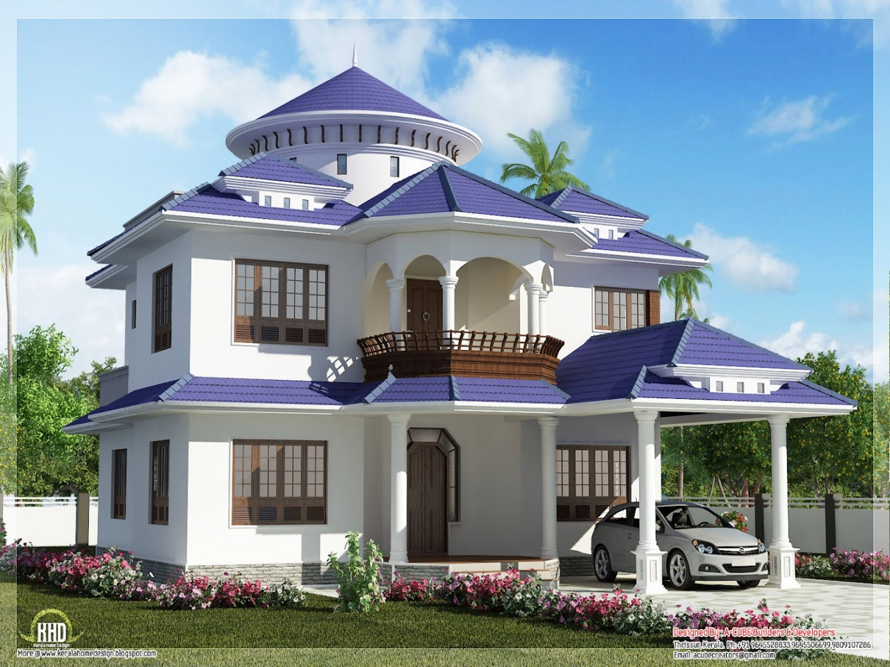 Dream home house design future home house design for Futuristic home designs