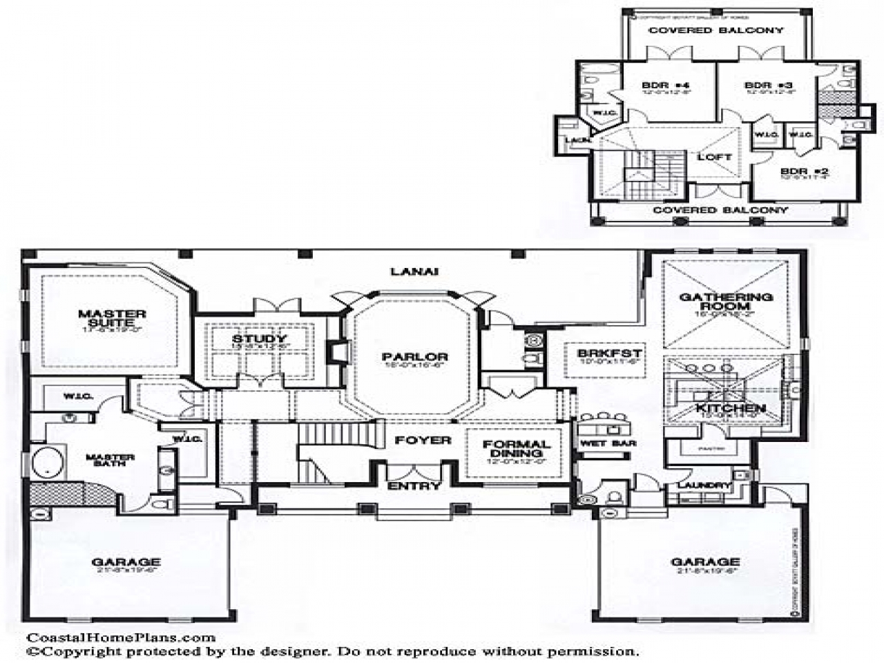 Ranch House Plans Bermuda House Plan Breeze House Floor