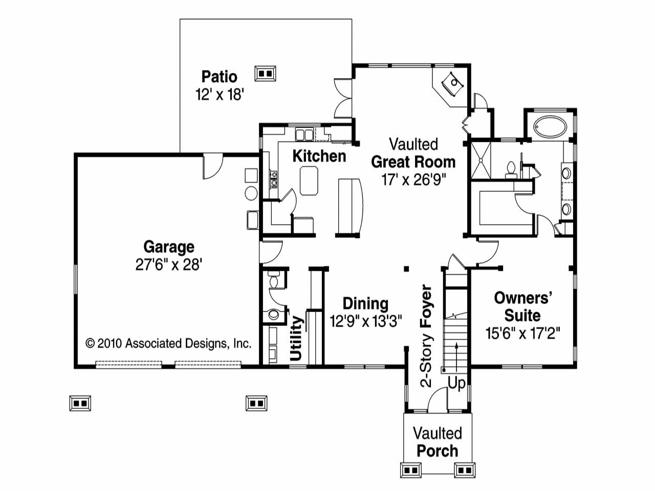 Lodge style house plans lodge style house floor plans for Lodge style floor plans