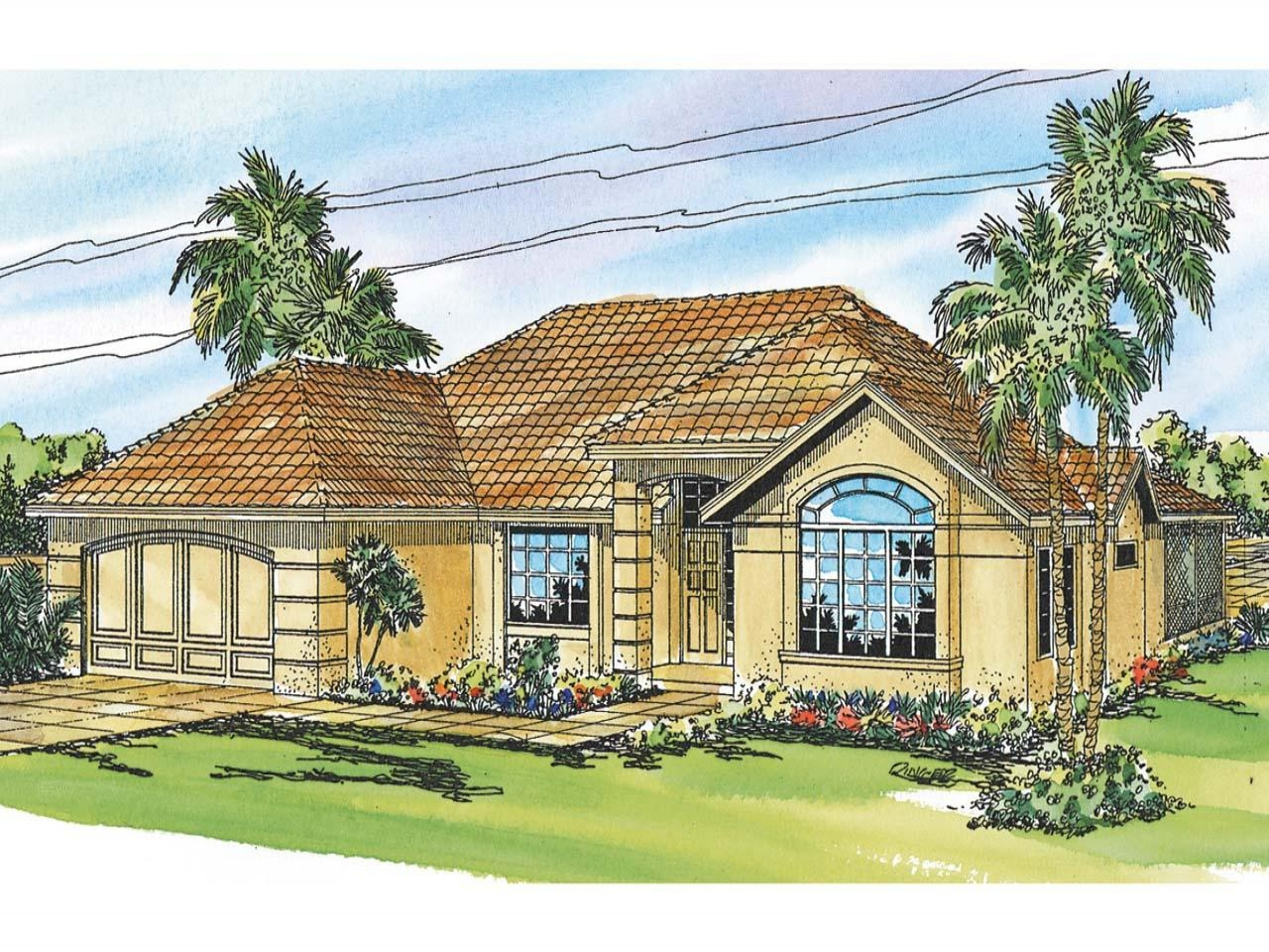 Award winning mediterranean house plans mediterranean for Award winning ranch house plans