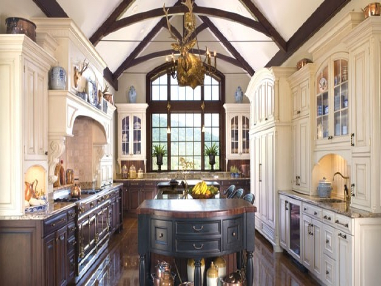 American Colonial Style Decorating Colonial Style Kitchen ...