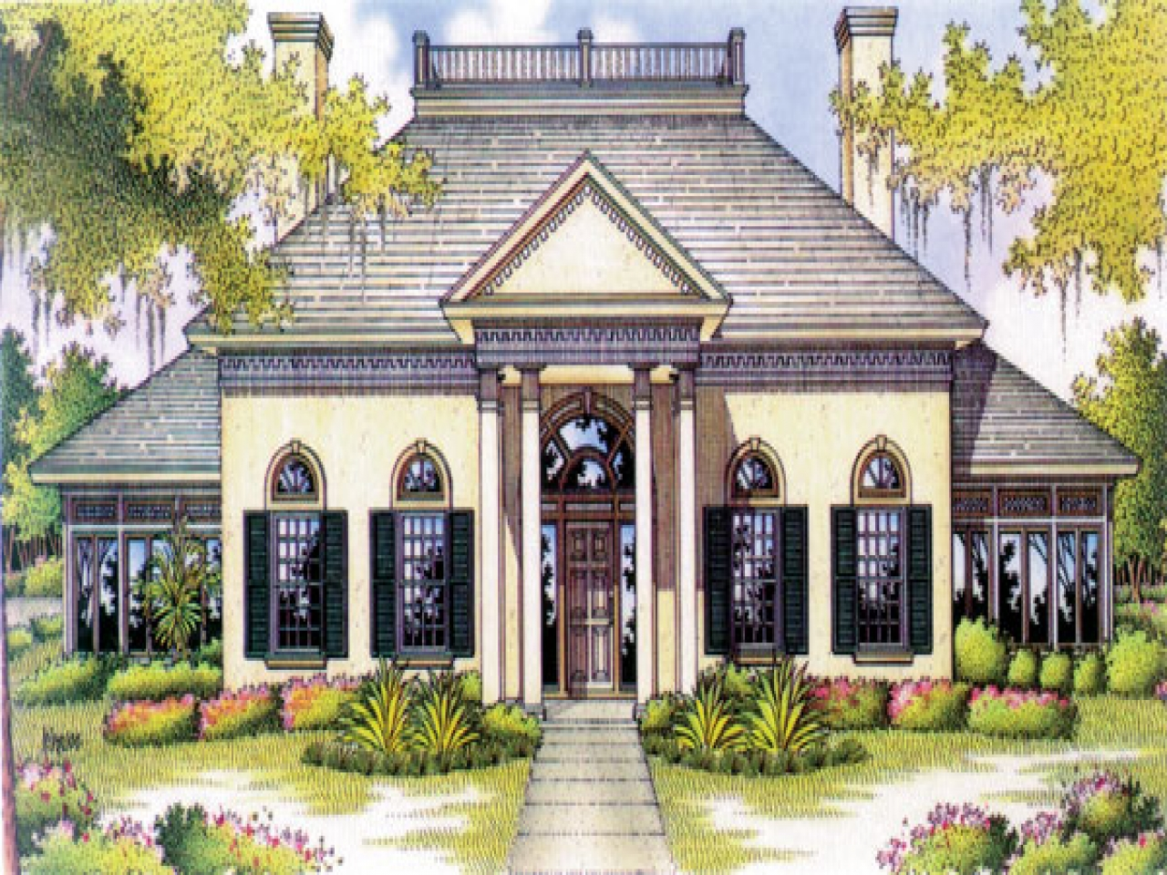 Antebellum House Plans Antebellum Homes House Plans With