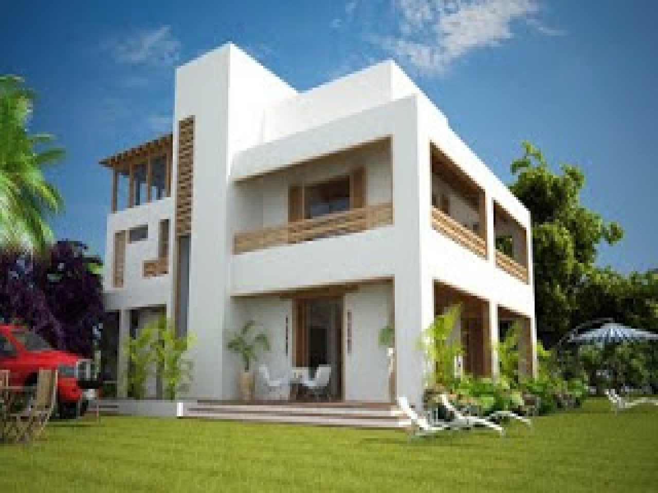Modern Mediterranean House Designs Technology Green Energy