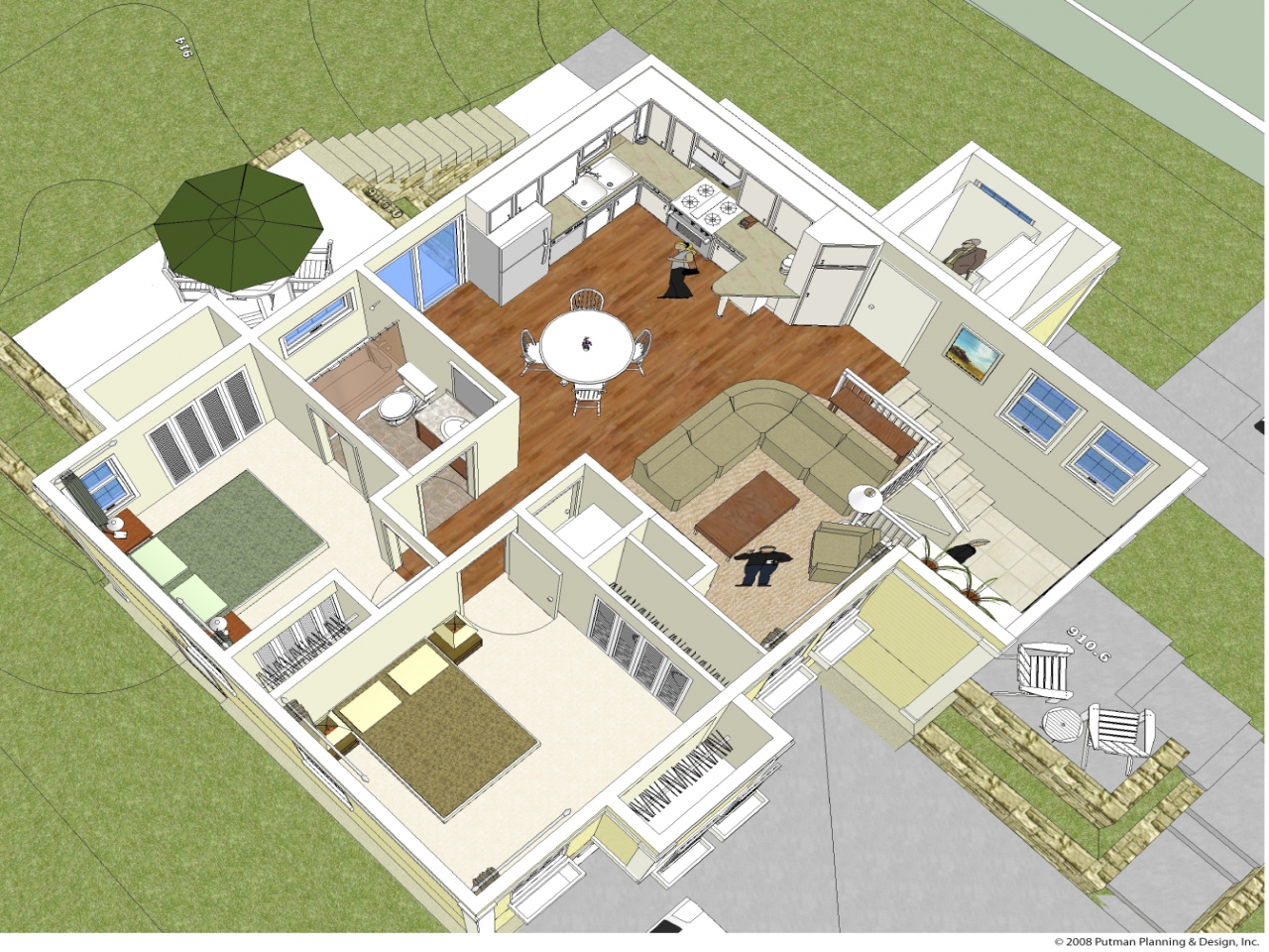 Energy efficient home design ideas energy efficient home for House plans with virtual walk through