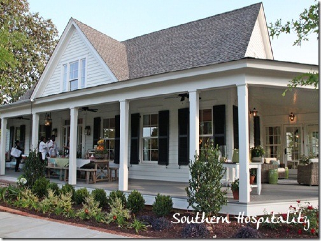 Country house plans with porches southern living house for Lifestyle house plans