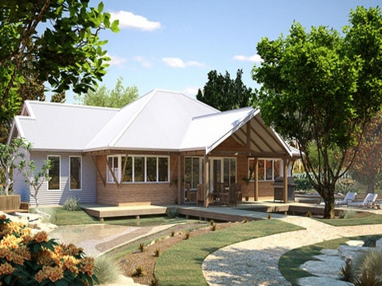 Country western designs home plans old country homes for House plans wa