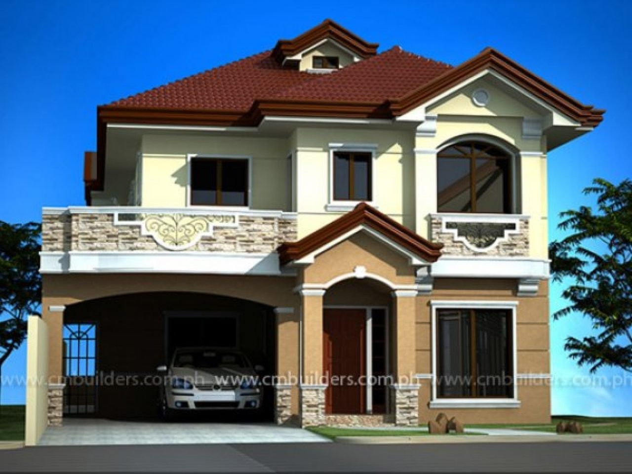 Beautiful house design philippines the most beautiful for Most beautiful mediterranean homes