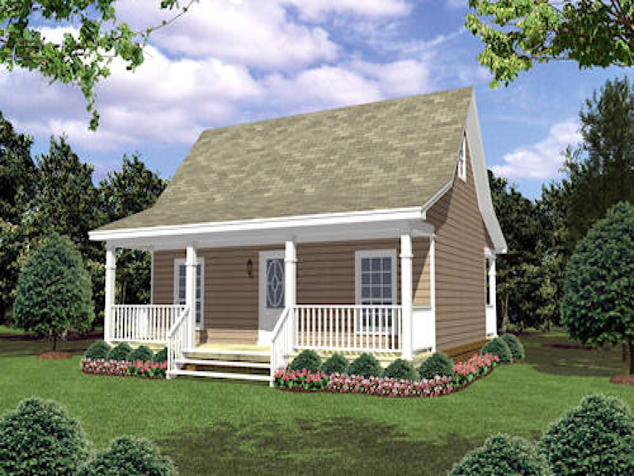 Small cottage house plans small country house plans new for Cost to build small cottage
