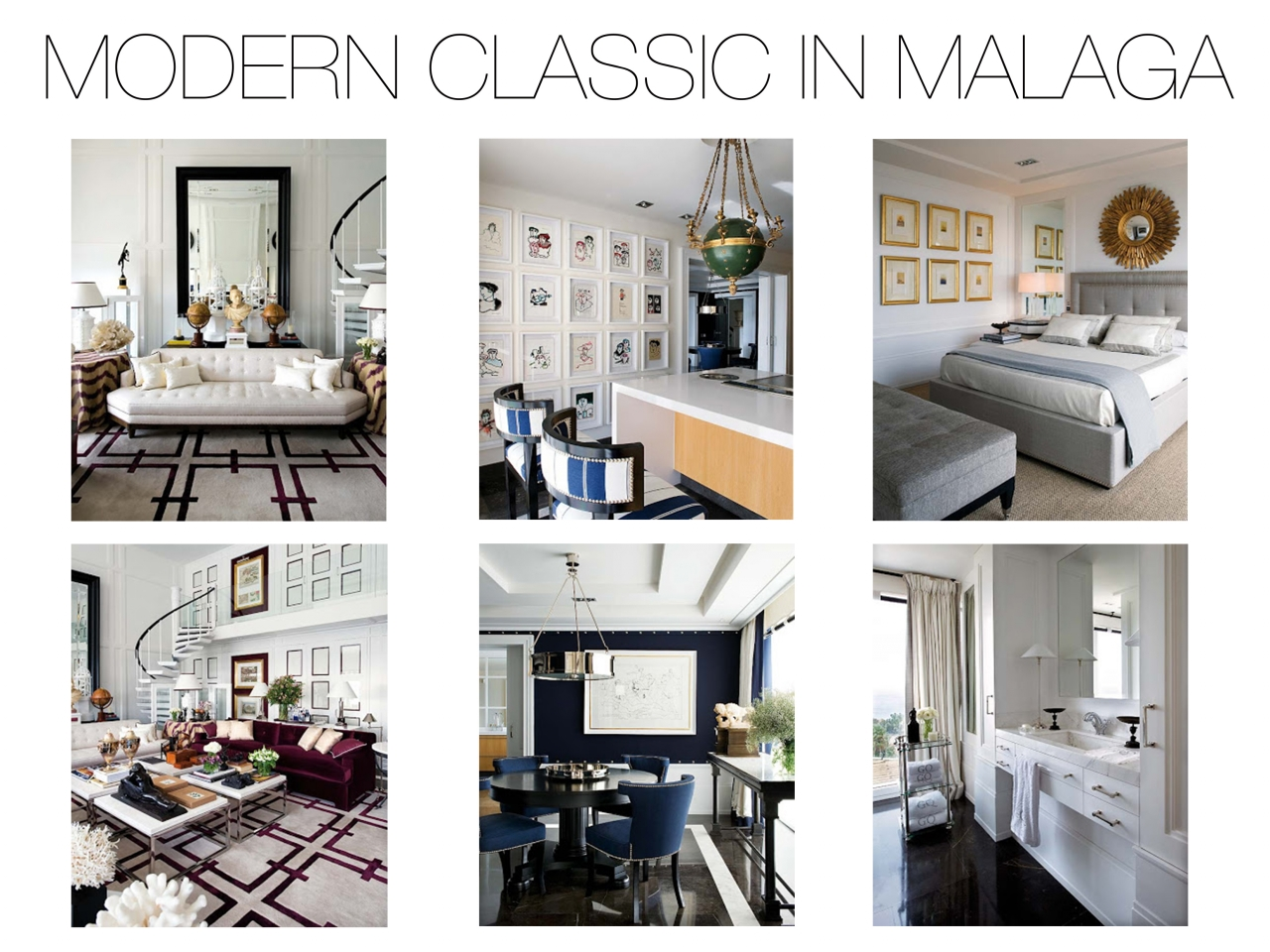 Modern classic interior design classic modern luxury for Modern classic home design