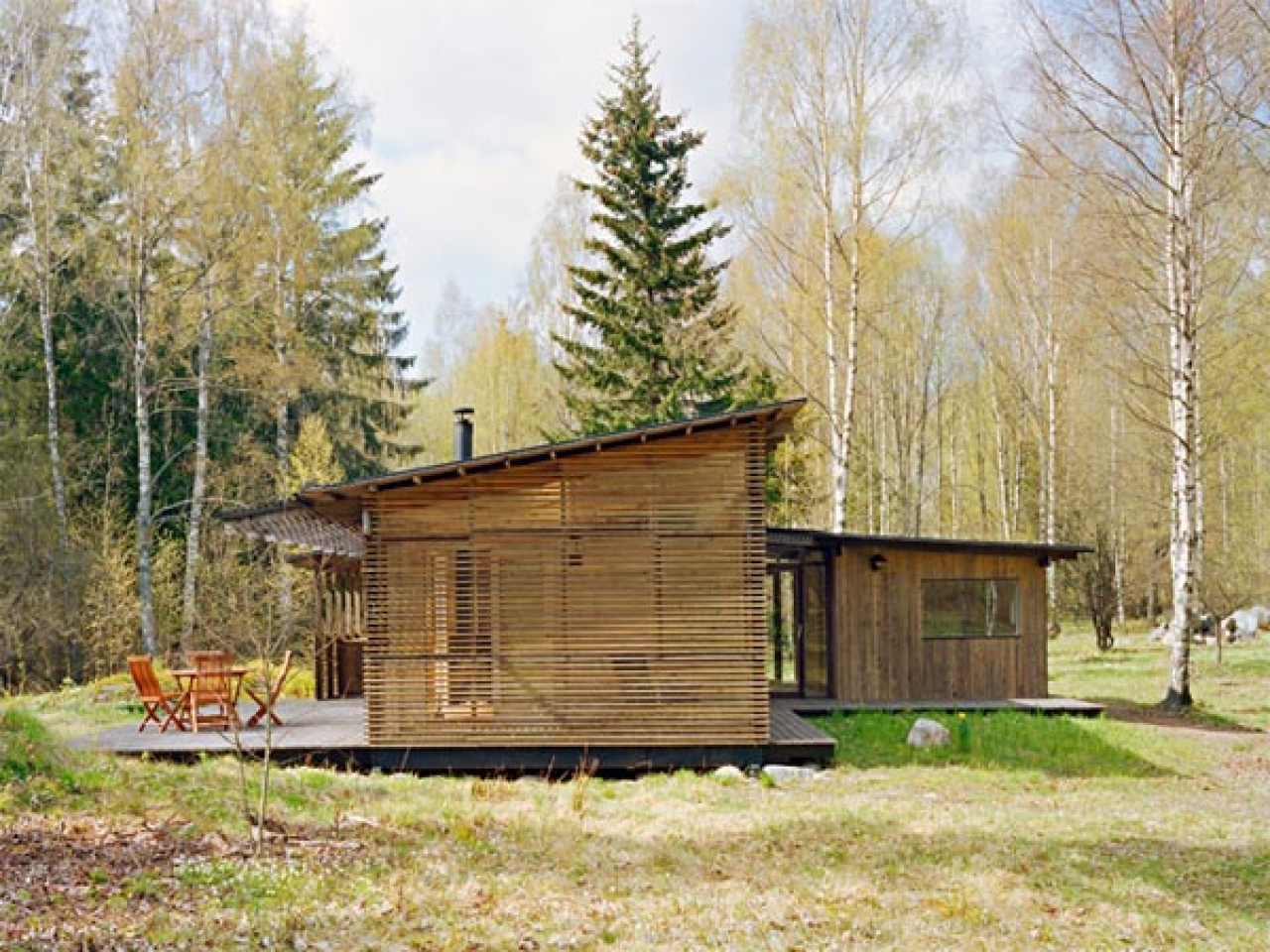 Simple Wood Cabin House Designs Rustic Cabin In The Woods