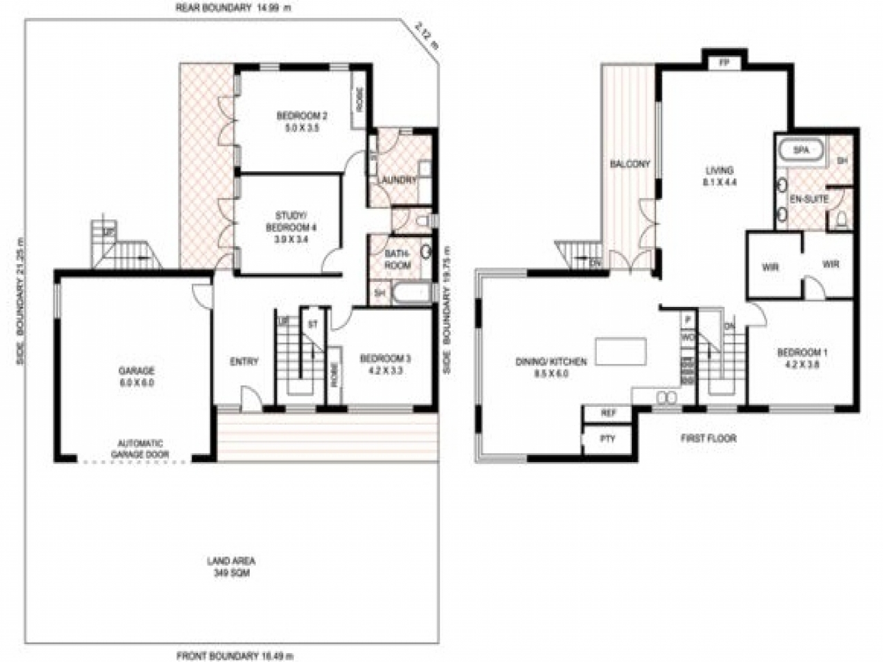 Luxury One Story Home Plans