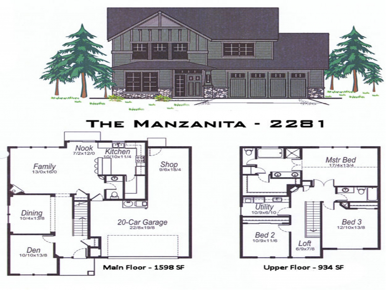 2500 sq ft square house plans 2500 sq ft floor plans for Oregon house plans