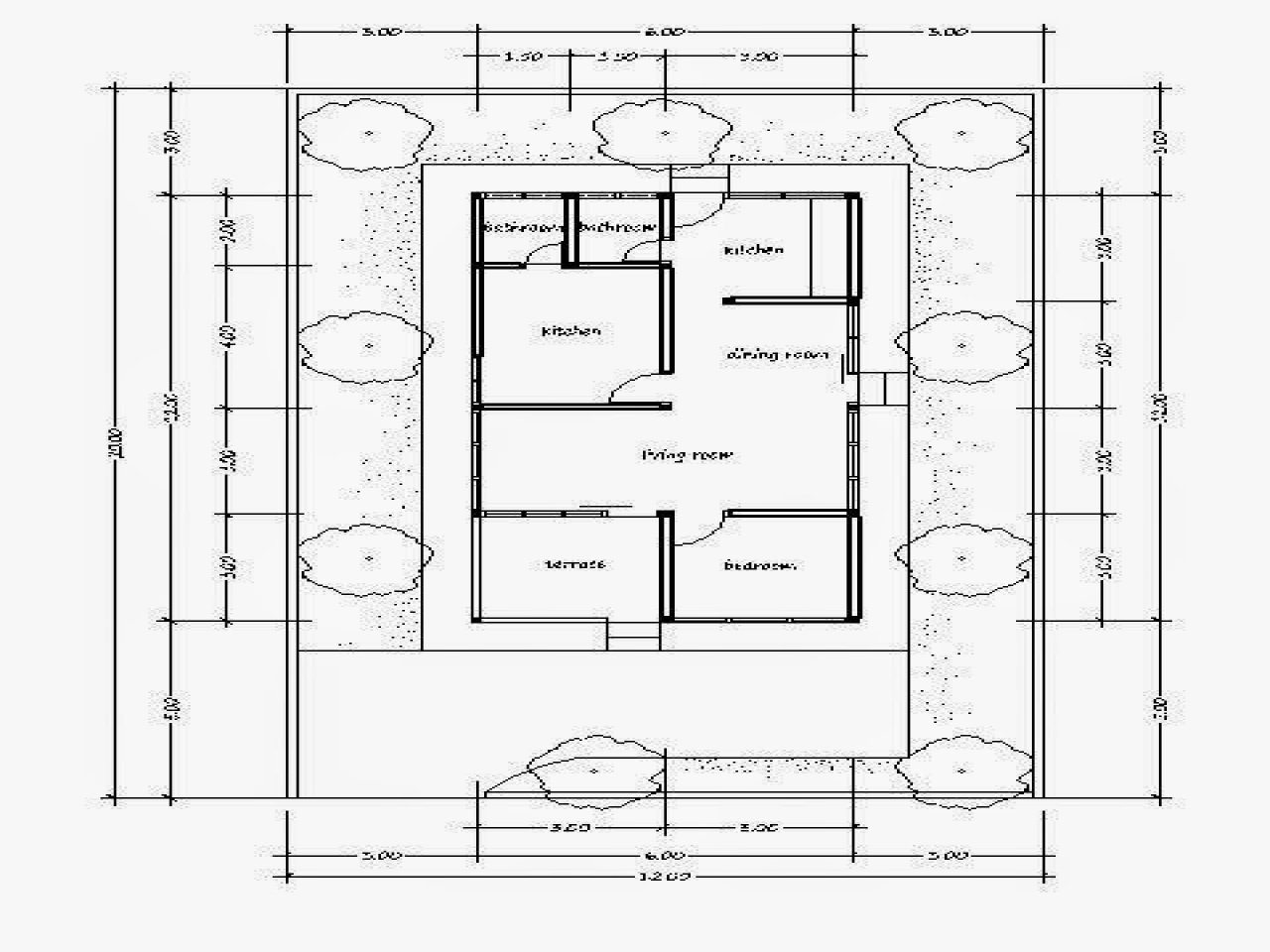 Small house plans beautiful simple house plans simple for Simple tropical house plans