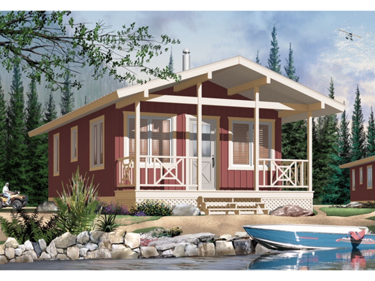 Small craftsman style house plans very small craftsman for Small craftsman homes