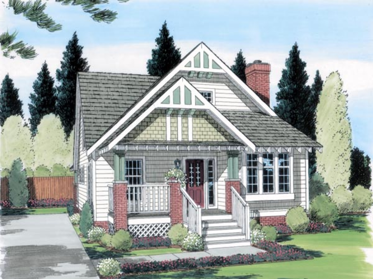 Cottage and bungalow house plans kanga cottage tiny house for Cottage and bungalow house plans