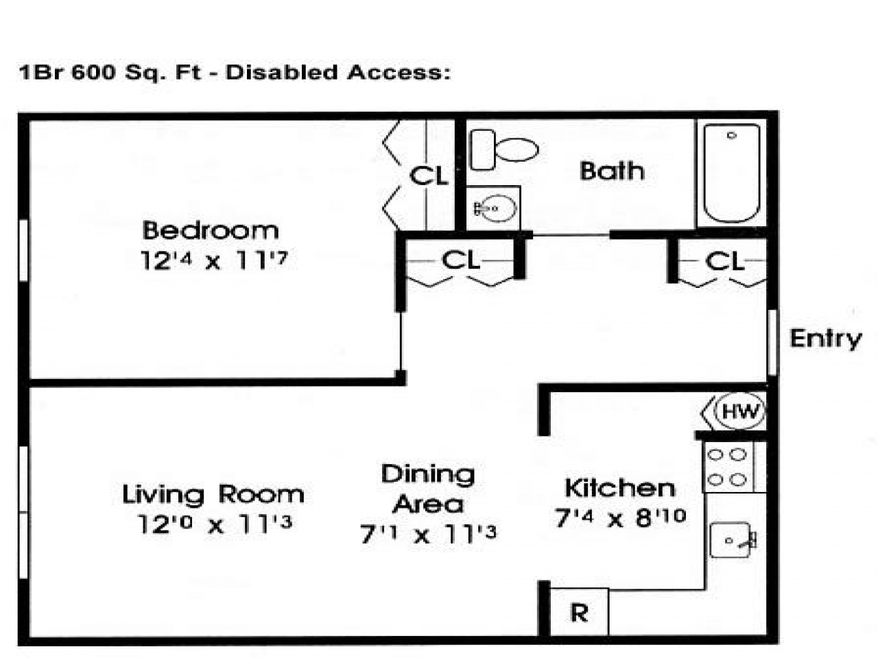 600 Sq Ft Home Floor Plans 600 Sf Home Floor Plans 600 Square Foot House Plans