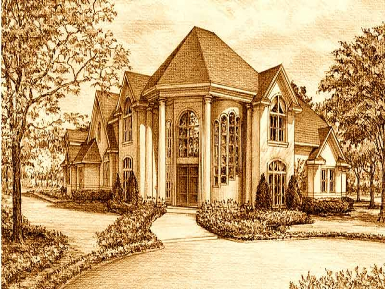 Neo eclectic house style floor plan eclectic style for Eclectic house plans