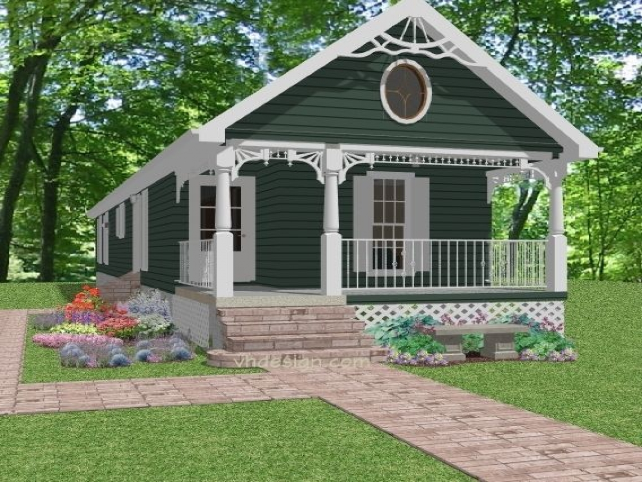 Narrow Lot Cottage House Plans Cottage Plans For Narrow