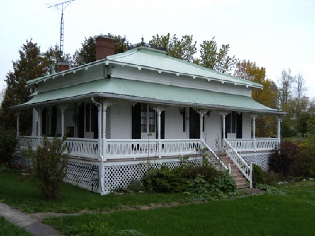 Regency cottages ontario historic regency interiors for Cottage plans ontario