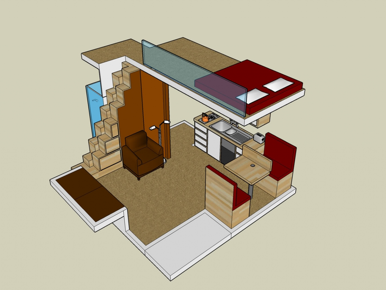 Small house plans with loft small house plans with wrap Small cabin floor plans wrap around porch
