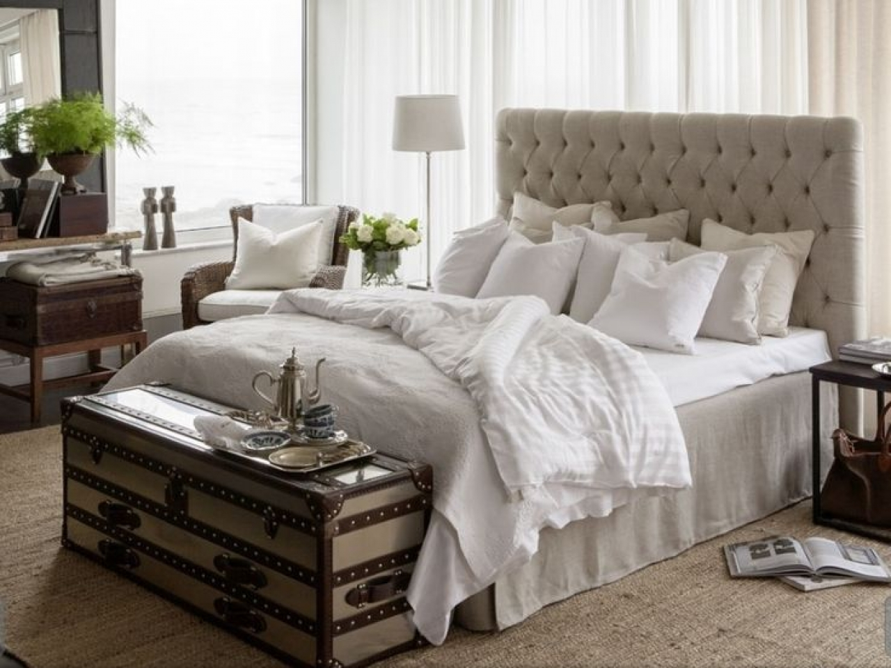New england bedroom style interior new england style for New england style bed