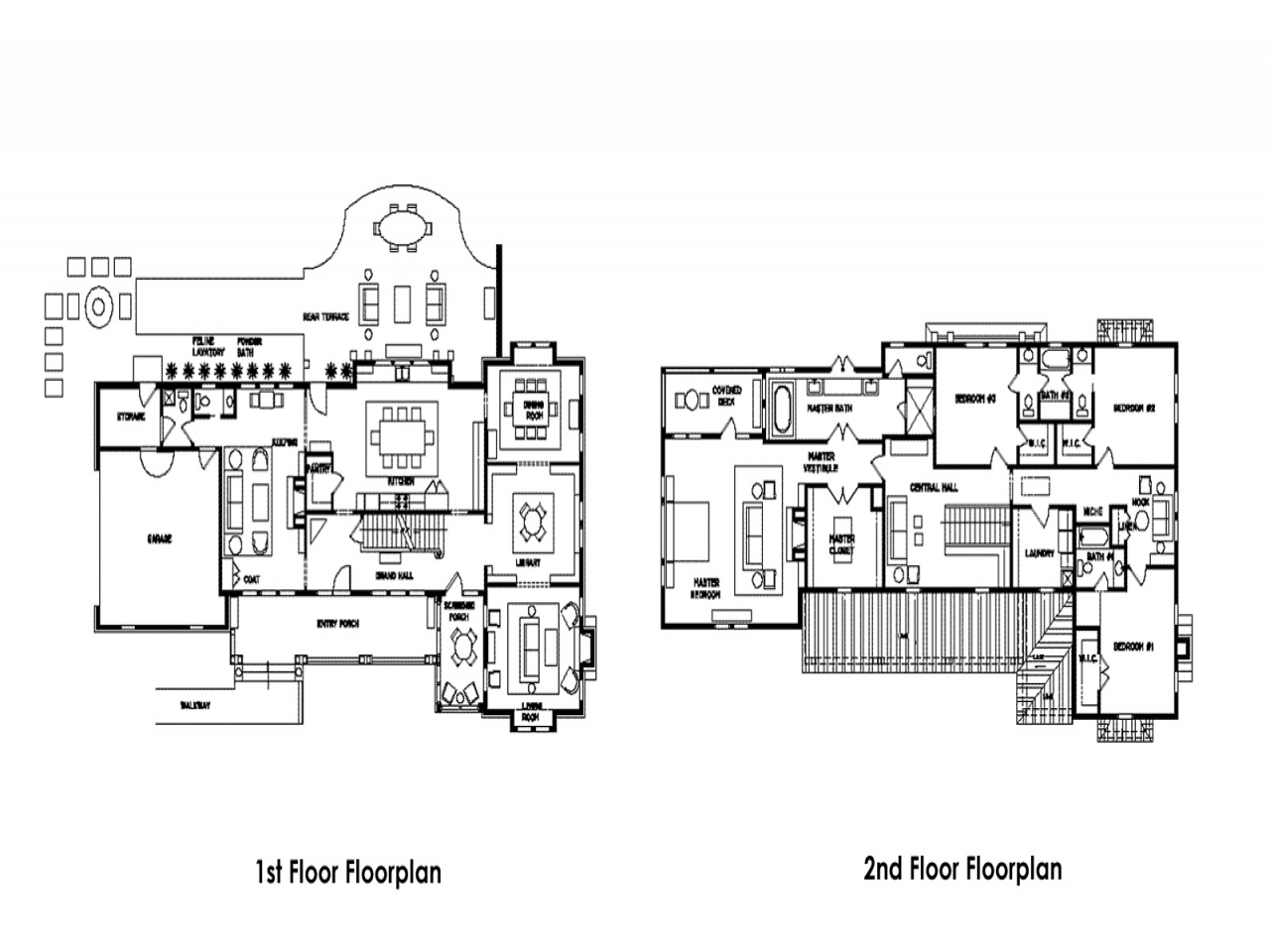 Historic mansion floor plans vanderbilt mansion floor plan for Historic home floor plans