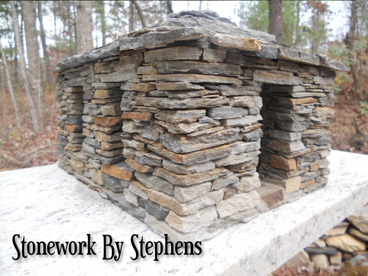 How To Build A Stone Wall With River Rock How To Build A